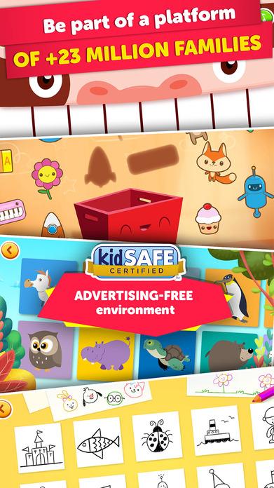 PlayKids - Preschool Cartoons and Games for Kids Screenshot