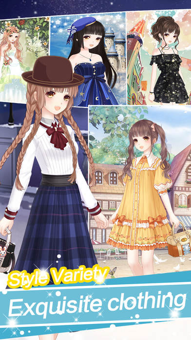 Sweetheart Princess Dress Up - Girl's Game Screenshot on iOS