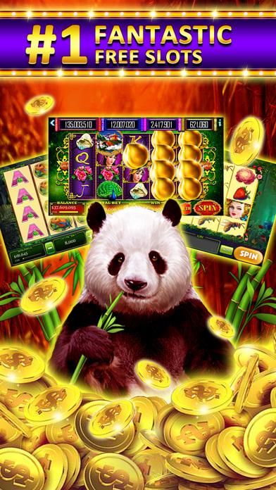 Dream of Vegas Slots Casino - Free Slot Machines Screenshot on iOS