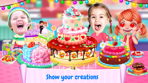 Best Food Sweet Cooking Games Screenshot Cake Maker