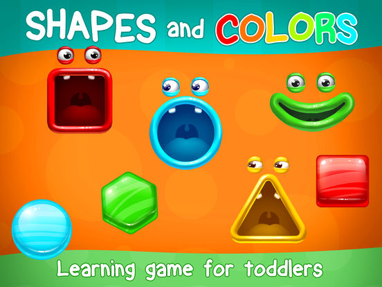 App Shopper: Shapes And Colors For Toddlers: Preschool