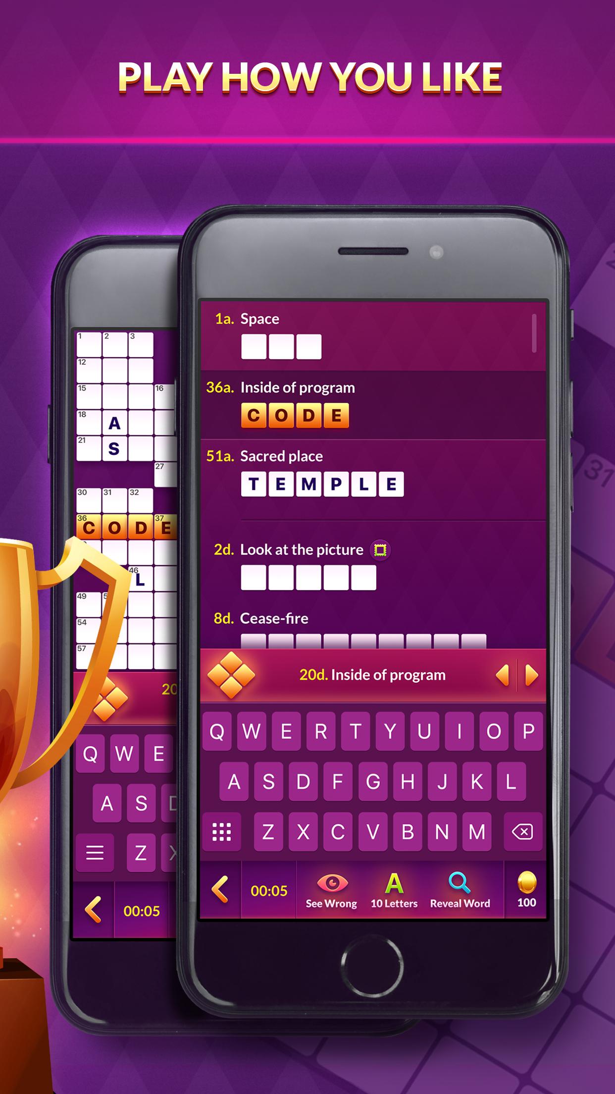 Crossword Champ Screenshot