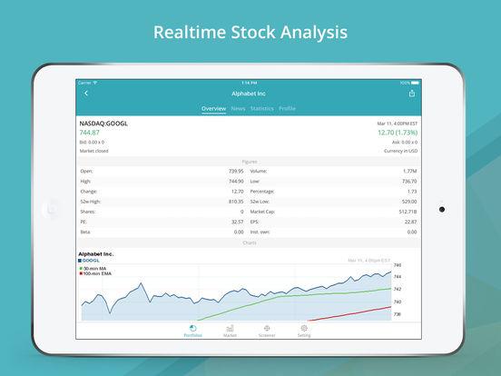 GoFinance for Google Finance: Tracker & Screener Screenshots