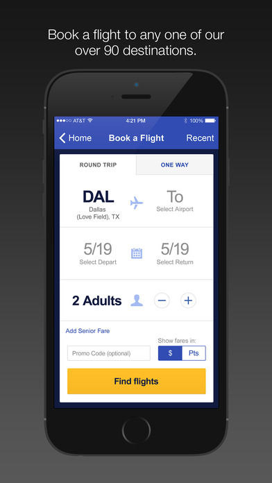 Southwest Airlines. The new Southwest app has been cleared for takeoff! We're proud to offer you our best Android version yet. The new look and added enhancements provide a seamless experience to help you quickly book flights and manage your trips with ease - all in the palm of your hand. Download our new app and see where it takes you next!3/5(K).