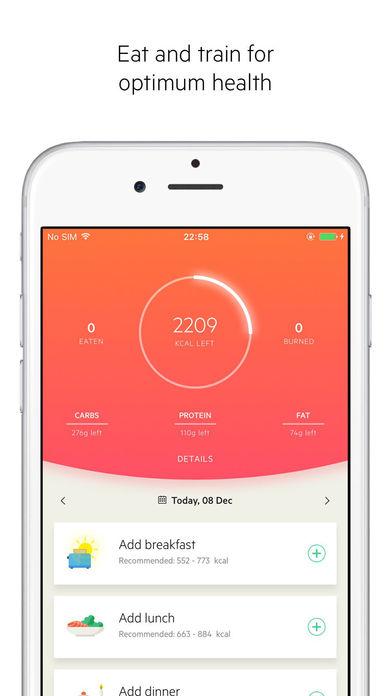 Lifesum – Inspiring healthy lifestyle app Screenshot