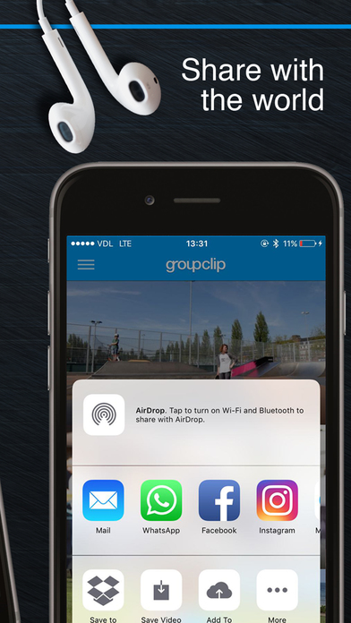 GroupClip - group video & multi-angle made easy Screenshot