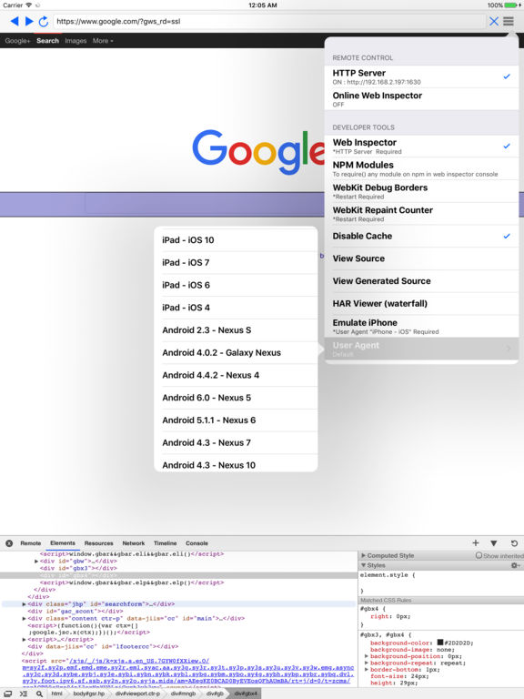 MIHTool Pro - Web Debugger Screenshot