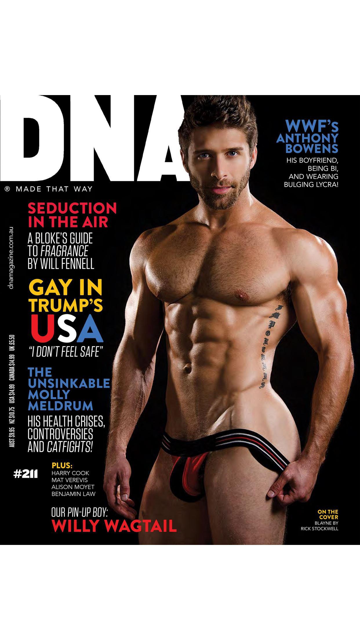 DNA Magazine Screenshot