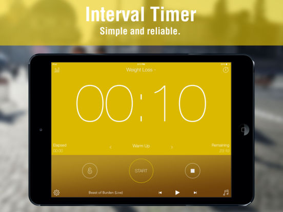 Interval Timer:Timing for HIIT Training, Workouts Screenshot