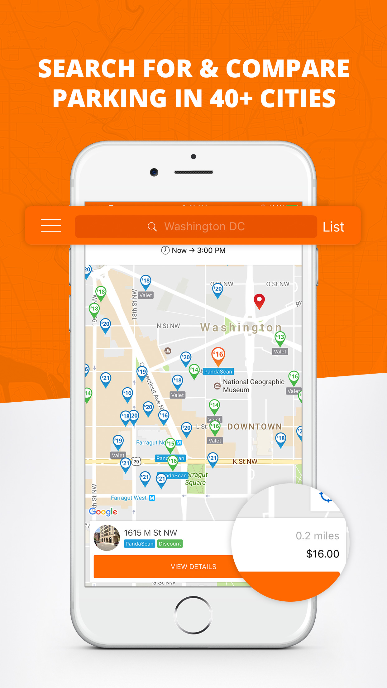 Parking Panda - On-Demand Parking Deals Screenshot