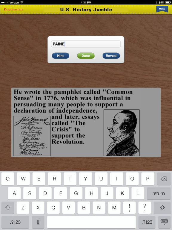 Us history regents review questions by topic