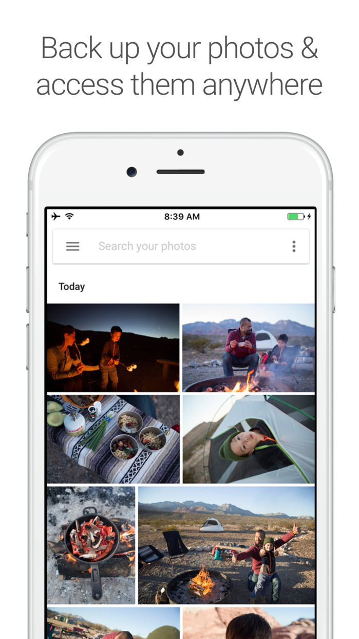 Google Photos - unlimited photo and video storage Screenshot