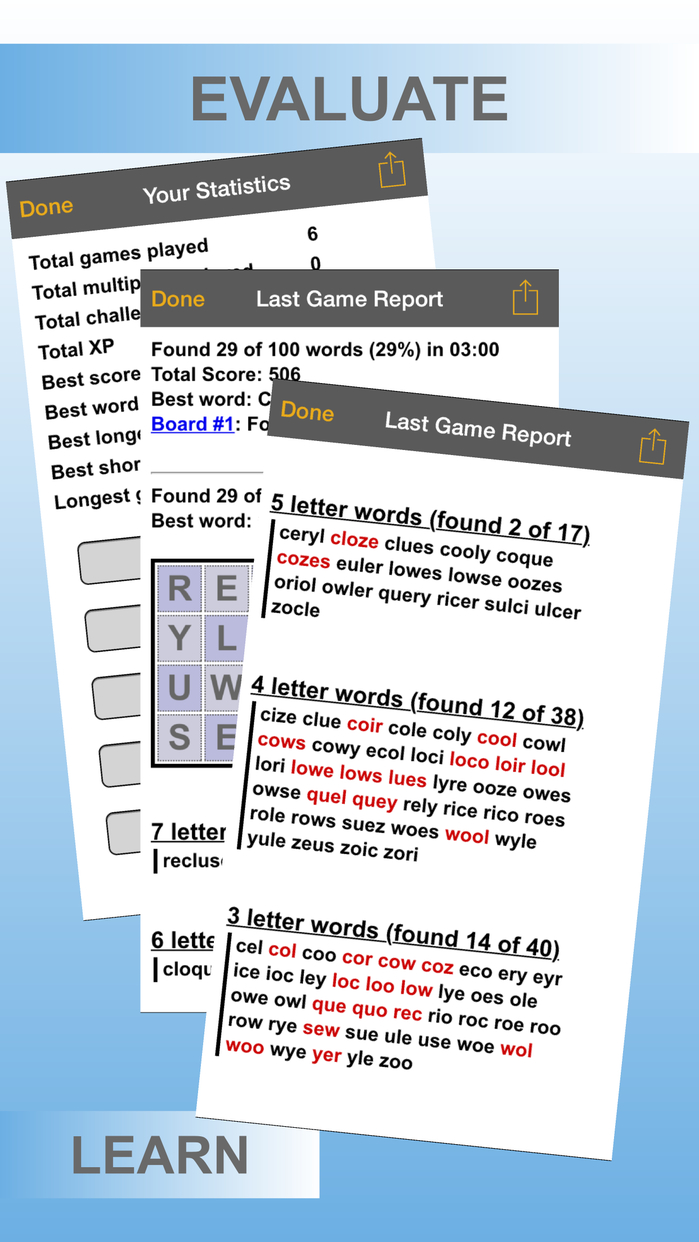 Word Shaker HD Free Screenshot
