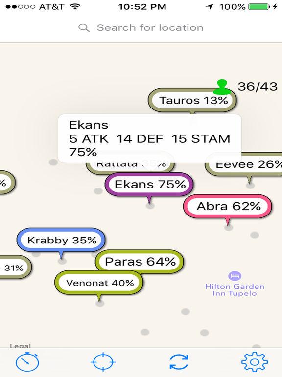 PokeSensor - Map for Pokemon GO iOS Game Version 4 3 1 - iOSAppsGames