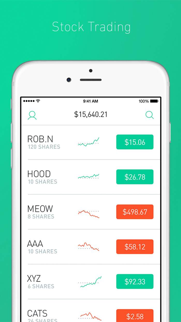 Robinhood - Stock Trading Screenshot