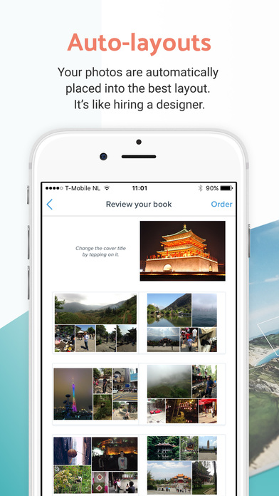 ReSnap - Photo Books, Easily Made In 1 Minute Screenshot