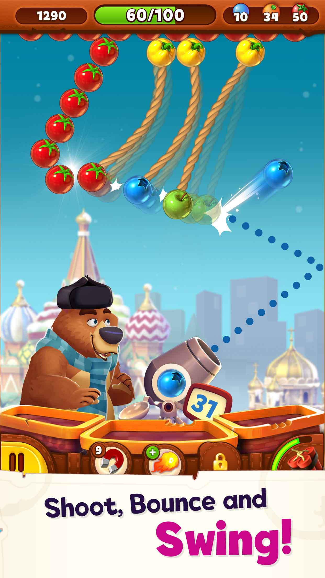 Bubble Island 2 - Pop Bubble Shooter Screenshot