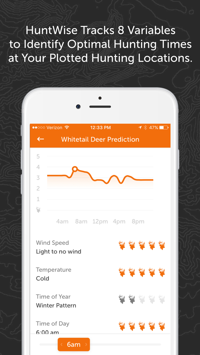 HuntWise: Maps, Hunting Times, GPS, and Community Screenshot
