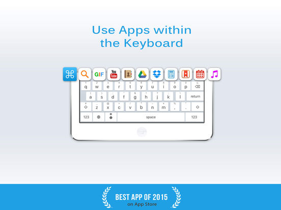 ReBoard Keyboard + GIF & Themes Screenshot