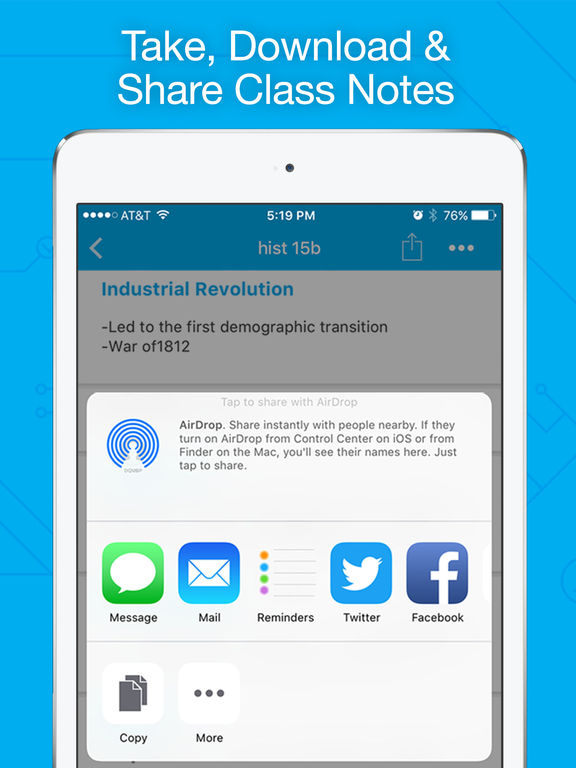 StudyBlue - Online Flashcards and Study Guide App Screenshot