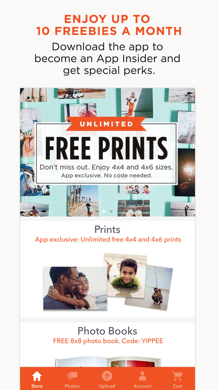 Shutterfly: Prints, Photo Books, Cards Made Easy Screenshot