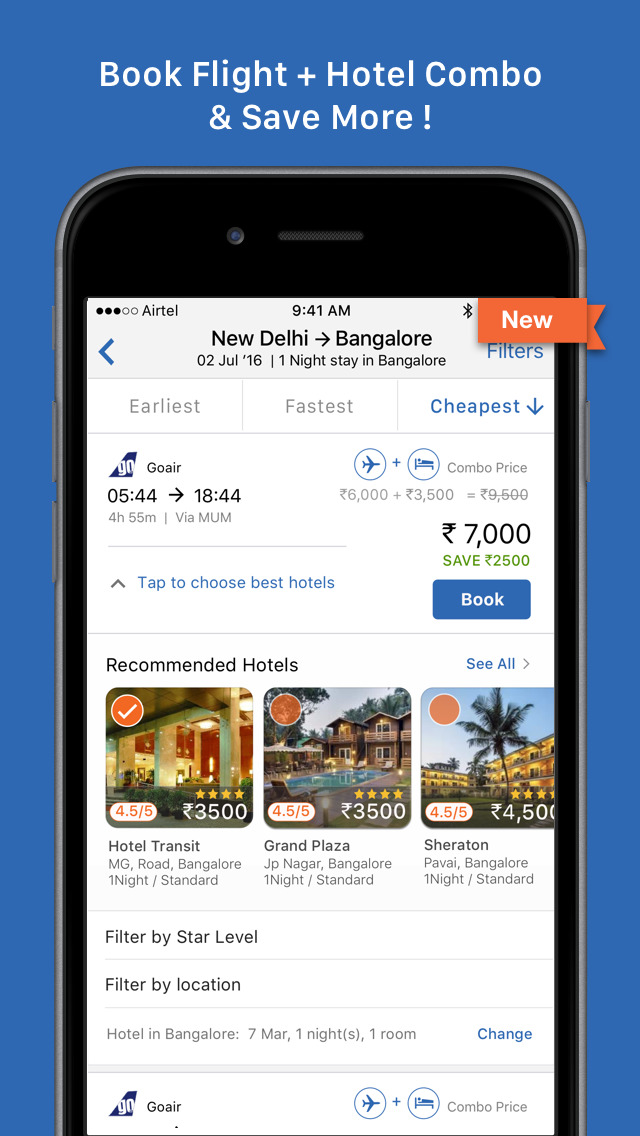 Goibibo : Hotel, Flight & Bus Booking | FREE iPhone & iPad