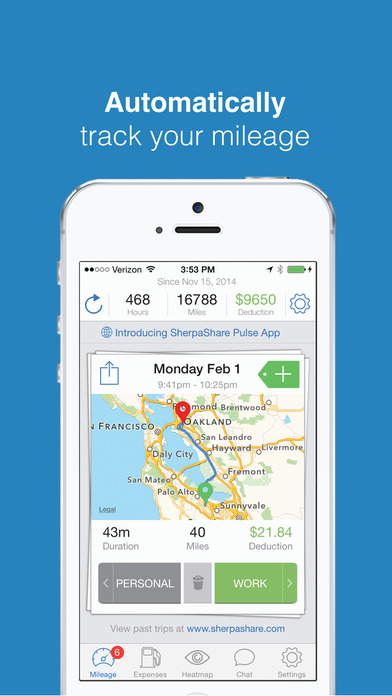 Best Mileage Tracker App For Iphone