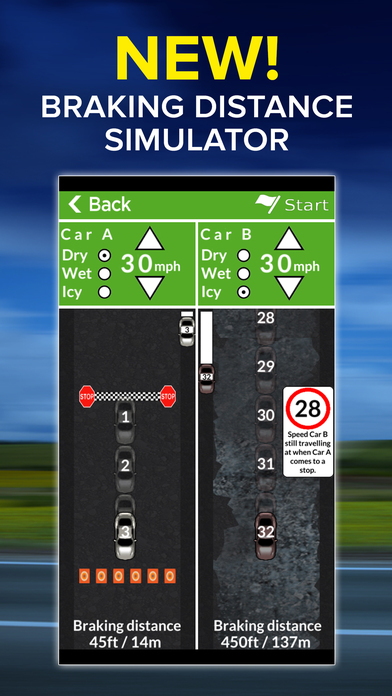 Theory Test for UK Car Drivers and Motorcyclists - Driving Test Success Screenshots