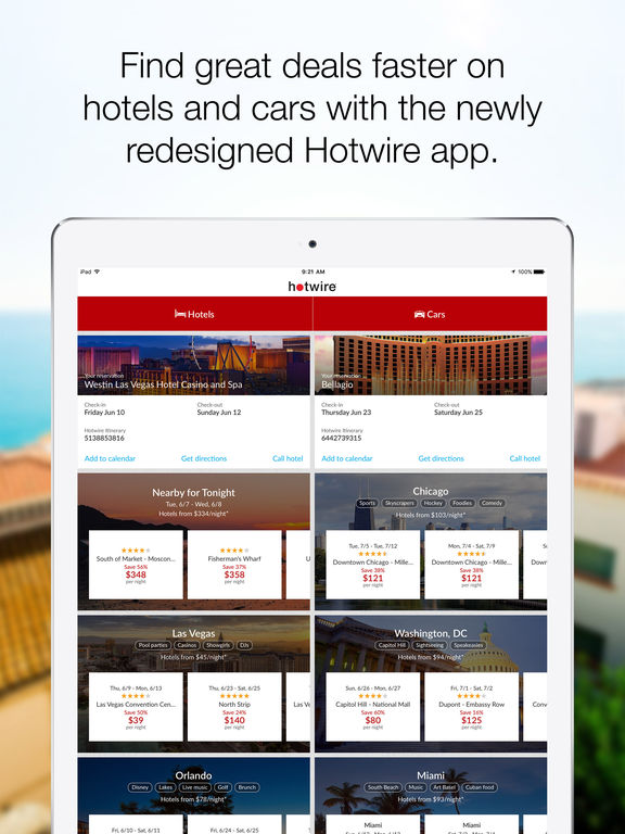 Hotwire – Hotel Deals, Car Rentals, and Last Minute Travel ...