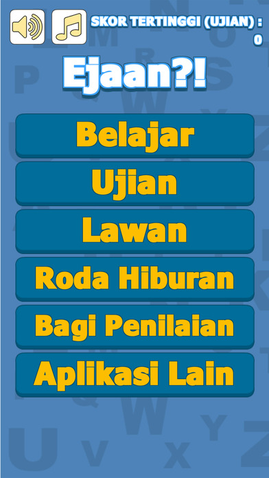 Ejaan ni Betul ke Salah? Screenshot on iOS