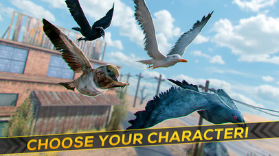 Bird Survival | Wing Sky Fly Tiny Simulator Game For Pros Screenshot on iOS