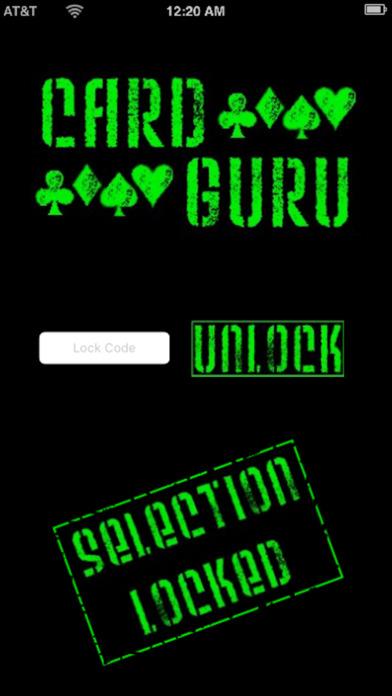 CardGuru Screenshot on iOS