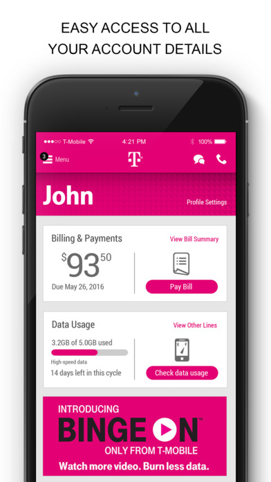 3 days ago· T-Mobile is one of the Big Four that has yet to roll out eSIM support for the new iPhones, but it's working on a standalone app that would bring eSIM support to iPhone.