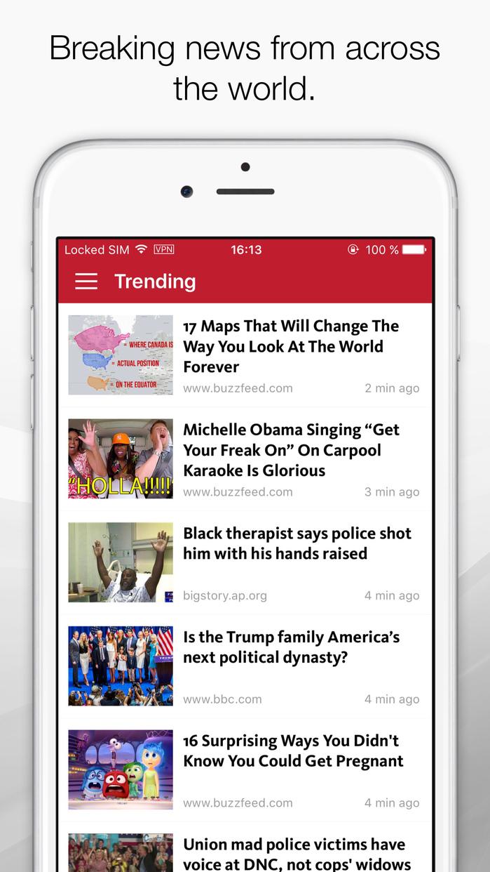 FeedNews: AI curated social news for productivity Screenshot