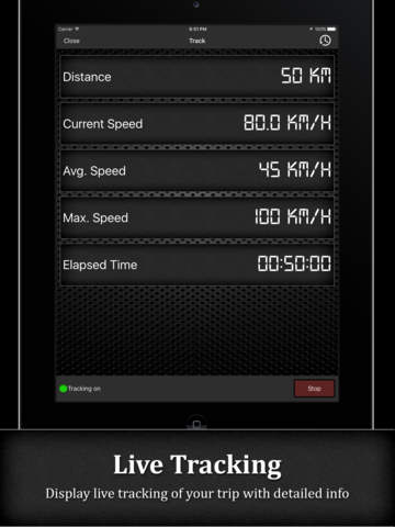 Спидометр HD PRO (GPS Speed Tracker) Screenshot