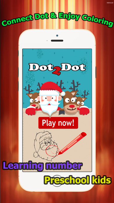 brain dots christmas santa claus coloring book connect dot coloring pages games free for