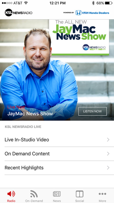 KSL News Radio Screenshot