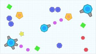 super tank io mobile geometry hero color snake io diep io war vs