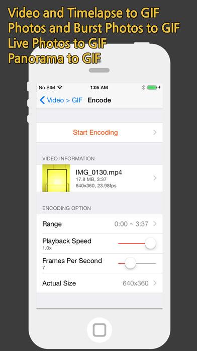 GIF Toaster - Photos, Burst, Video to GIF Maker - appPicker