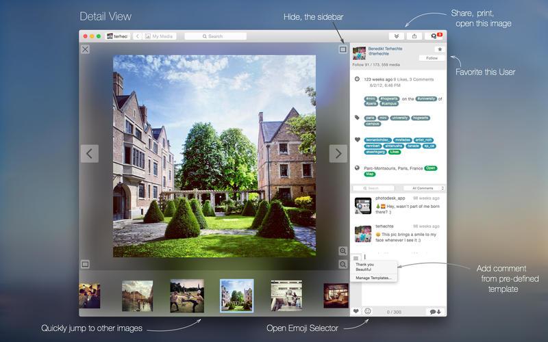 PhotoDesk - for Instagram Screenshots