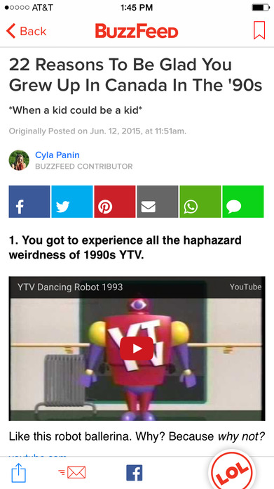 BuzzFeed – Tasty, News, Quizzes, and beyond Screenshot