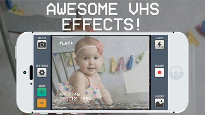 VHS Camera Free - Retro Video Camcorder Effect - appPicker