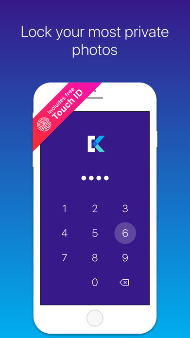 Keep Safe Photo Vault: Lock, Hide Private Pictures Screenshot