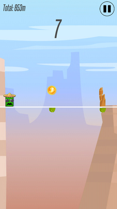 Weys Jump 'n' Run Screenshot on iOS