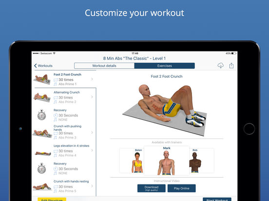 Abs Workout - Daily Fitness Routines for a Quick Six Pack