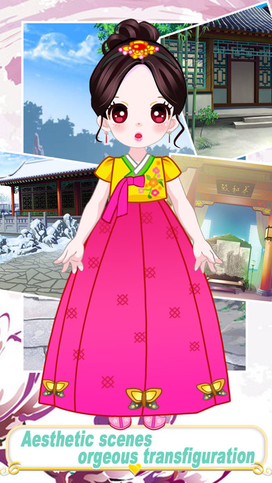 Makeover beauty princess - Dress up game for kids Screenshot on iOS