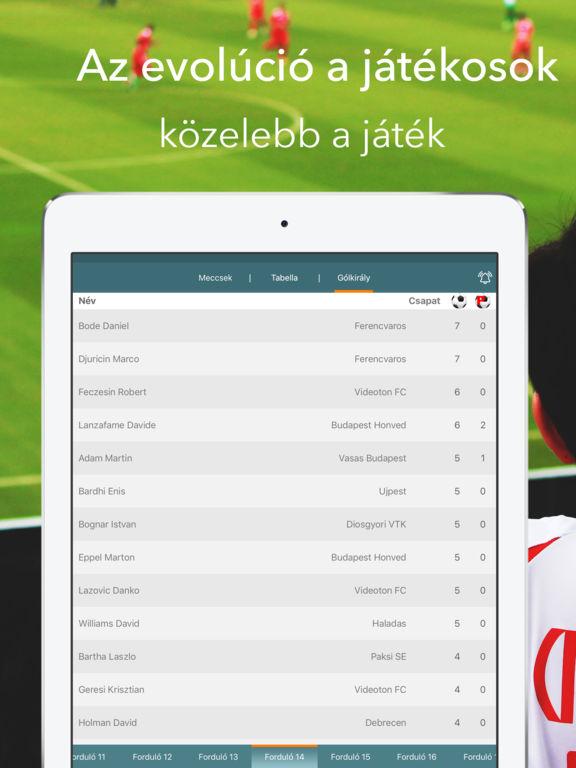 Az OTP Bank Liga - Live Football Statisztika on the App Store