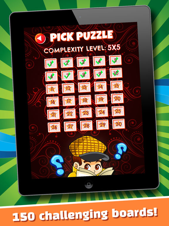 The Secret Mystery Clue Line - FREE - Detective Seek & Find Object Match Up-ipad-3