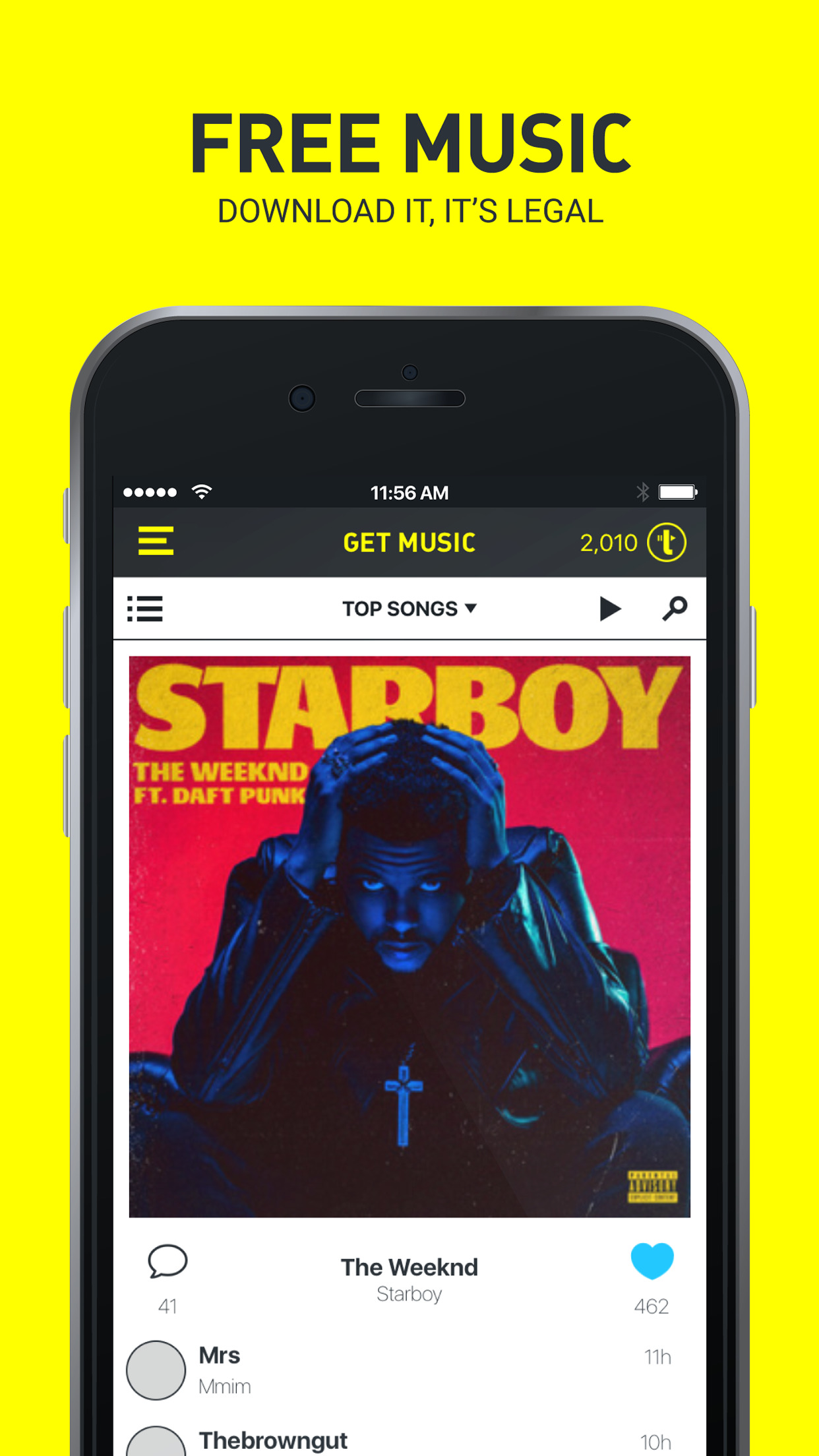 Trebel Music - Unlimited Music Downloader Screenshot