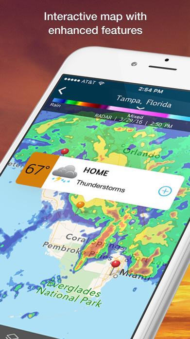 WeatherBug - Local Weather, Radar, Maps, Alerts Screenshot